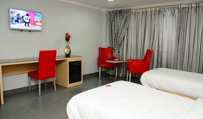 hotel paraiso nampula twin